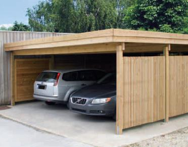 wooden construction carport en bois pdf plans. Black Bedroom Furniture Sets. Home Design Ideas